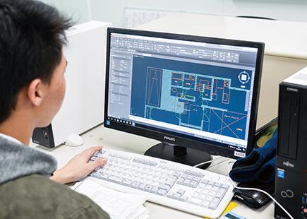 CAD製図設計実習
