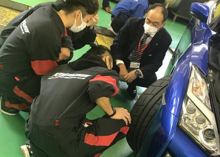自動車メーカーによる特別授業