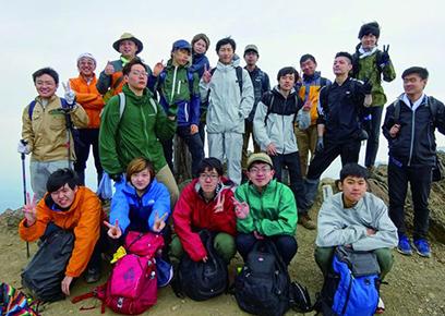 富良野岳登山実習(2泊3日)